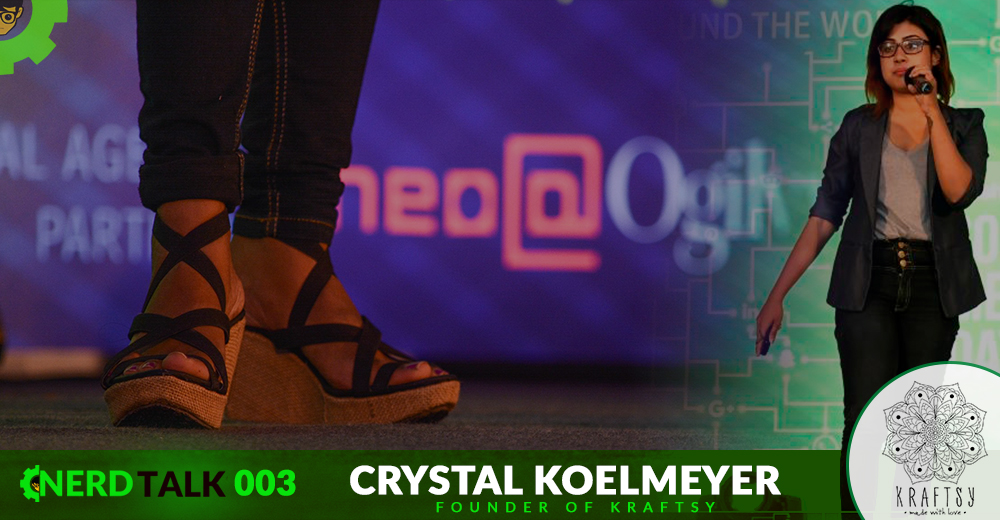 NerdTalk 003 - Crystal Koelmeyer - Founder of Kraftsy