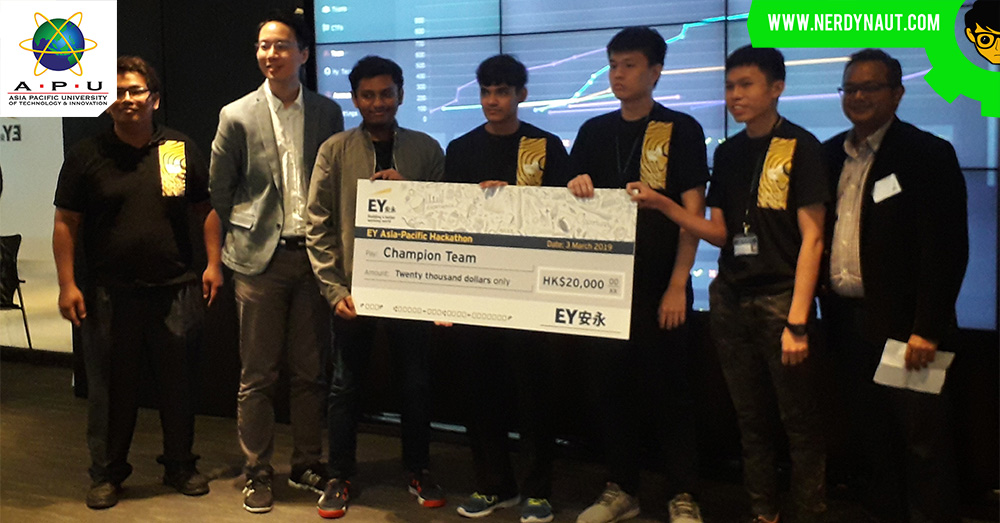 Students from Asia Pacific University (APU) championed EY's Asia-Pacific Cyber Hackathon 2019