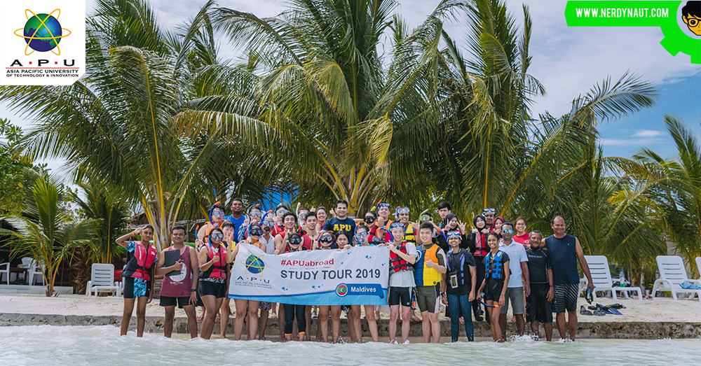 Asia Pacific University (APU) Hosts Its First #APUAbroad Study Tour to the Maldives