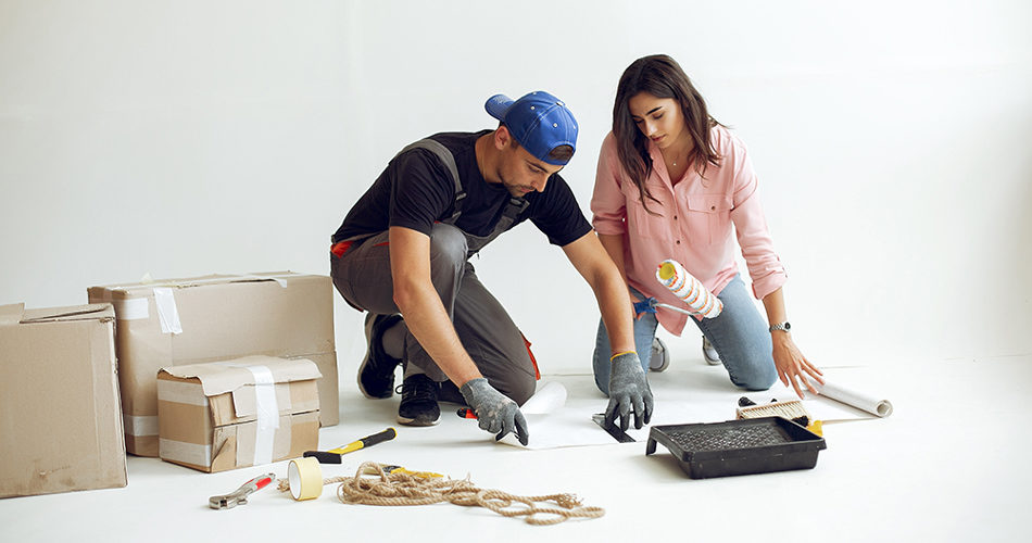 Home repair couple