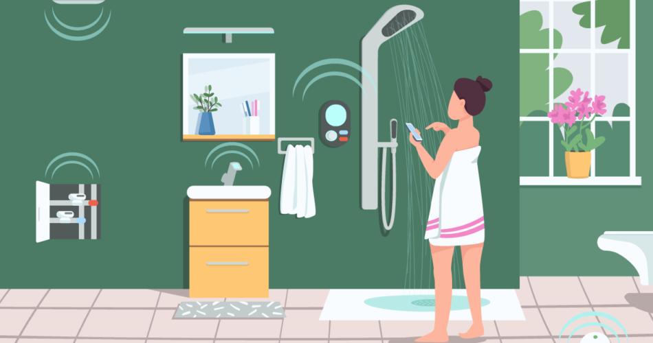 Upgrade Your Shower with technology