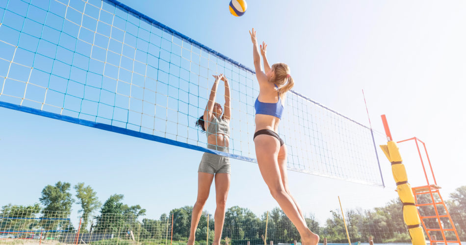 Volleyball While On Vacation