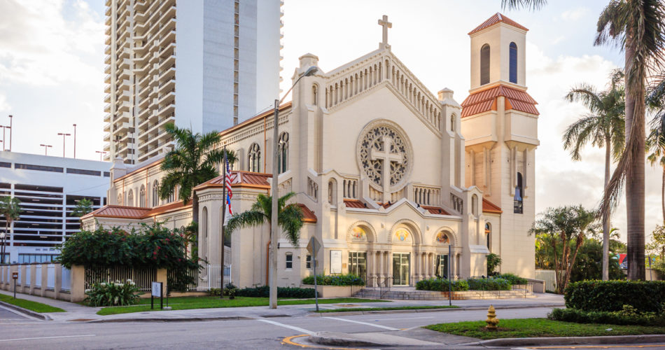 The Trinity Episcopal Cathedral in Miami