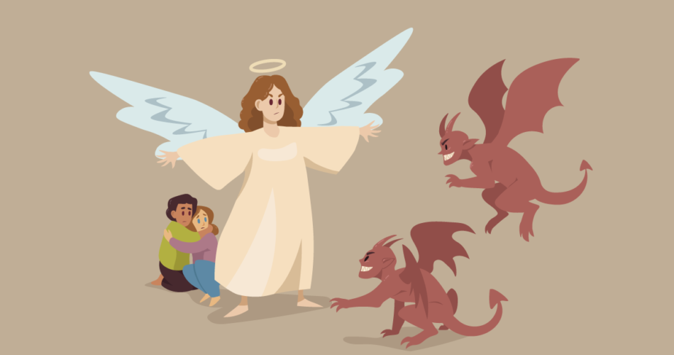 Pray to Their Guardian Angel