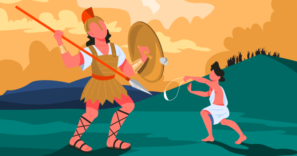 David and Goliath The Fight Between Pastor and Warrior